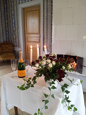 Frägsta Hälsingegård bröllop - Salongen