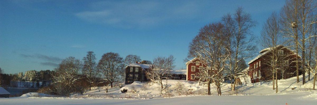 Vinter på Frägsta